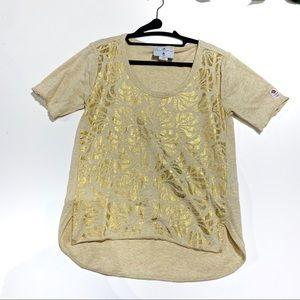 Adidas Gold Team GB by Stella McCartney Tshirt
